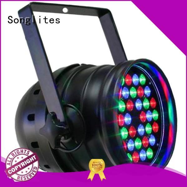in1 54 led par light 10w 3w Songlites company