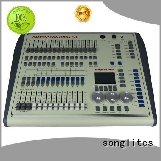 light controller Songlites Brand portable dmx controller