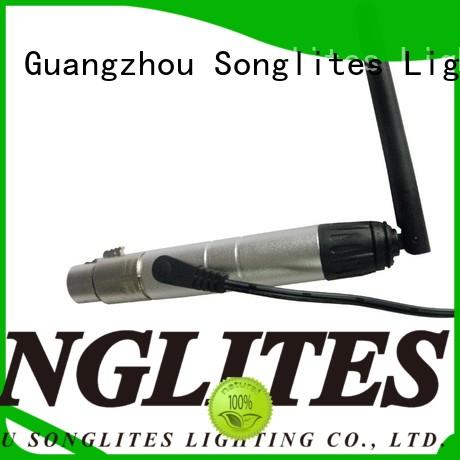 Songlites High brightness wireless dmx controller android factory price for bar